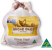 Broad Oak Fresh Whole Chicken $3.00 per Kg (was $3.79) Jindurra Station Rump Steak Bulk $10.00 per Kg (was $13.99) @ ALDI
