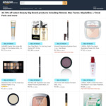 [Amazon Prime] 40-70% off Select Beauty Brand Products Including Rimmel, Max Factor, Maybelline, L'Oréal Paris & More @ Amazon