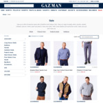 GAZMAN Flash Sale: T-Shirts from $12.70