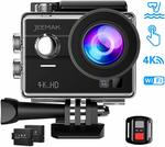 JEEMAK 4K + 16MP Touch Screen Waterproof Action Camera with Remote Control $71 Shipped (35% off) @ Campark Direct via Amazon AU