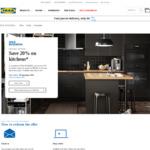 20% off Kitchens via IKEA Business (Min Spend $8,000) @ IKEA