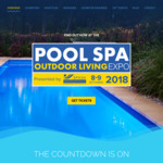 [WA] Pool Spa and Outdoor Living Expo 2018 - $0 Tickets (Usually $15)
