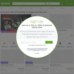 10% off Sitewide - Max Discount $40, Unlimited Redemptions @ Groupon