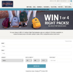 Win 1 of 4 Jansport Right Pack Backpacks Worth $109.95 from Jansport [Except NSW]