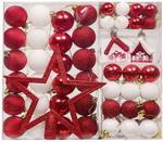 60pcs Christmas Baubles Tree Balls Plastic Ornaments $22.94 + Delivery (Free with Prime/ $49 Spend) @ Hannahs Cottage Amazon AU