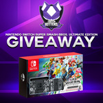 Win a Nintendo Switch Super Smash Bros. Ultimate Edition Console Worth $549 from Twitch Kittens and VAST