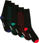 BONDS Men's Viscose Bamboo Blend Socks 5 Pack - Black (Size 6-10) $5 (Was $20) @ Big W