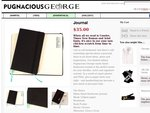 [EXPIRED] Free Pugnacius George Journal (with Free Shipping)