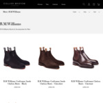 R.M. Williams Chelsea Boots £175 (~AU $306.78) Plus Shipping @ Collier Bristow