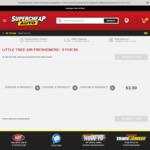 3x Little Trees Air Freshener $3.60 @ Supercheap Auto