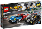 LEGO Speed Champions 2016 Ford GT & 1966 Ford GT40 75881 $29 (Was $49.95), Holiday Socks Gift Box 4 Pack $15 (Was $59.95) @ Myer