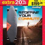 BULLET Electric Skateboard 250W Longboard $199.20 Delivered @ Mytopia eBay