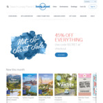45% off Everything @ Lonely Planet