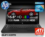 """Hewlett Packard notebook G62-378TX 15.6"""" i3-370M - $599 + $15 shipping"""