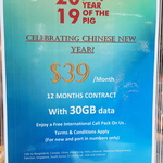 [VIC] $39/Month Telstra SIM Plan with 30GB/Mth Data (with International Calls) over 12 Months (New/Port in) @ Telstra (The Glen)