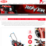 Oxley Lawn Mower $350 (Was $499) + Free Shipping @ Rover