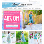 Take An Extra 40% Off Sale Items @ Mombasa Rose Fashion