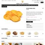 Sun Dried Mango Cheeks 200g $6 (Was $8), 1kg $25 (Was $30) + Shipping @ Royal Nut Company
