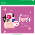 Spend $59 on Cosmetics or Fragrance and Receive a Bonus Beauty Bag Worth $70+ @ TerryWhite Chemmart (Selected Stores)