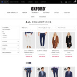 50-70% off @ Oxford (in Store & Online)