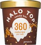 Halo Top 473ml Ice Cream - Candy Bar or Caramel Macchiato - $5 at Woolworths (Was $10)