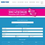 Win 1 of 50 $50 Priceline Gift Cards from iNova Pharmaceuticals [Priceline Sister Club Members]