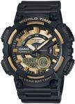 Casio Black and Gold Duo Mens Watch $50.49 (Was $112.54) Delivered @ Amazon AU