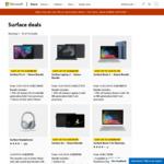 15% off Select Surface Devices + Free Sleeve @ Microsoft Store