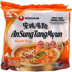 Nongshim AnSungTangMyun 5 Pack $4.50, Kim Chi Noodles 5 Pack $4.50 (Was $6.50) @ Woolworths
