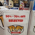 [NSW] 50-70% off Pop Vinyl! $5.10 ($16.99) @ Kinokuniya, Sydney