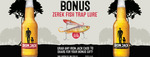 Free Zerek Lure ($16 Value) When You Purchase a Case of Iron Jack Beer ($45.99) - Liquor Legends