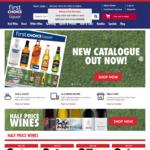 10% Cashrewards Cashback + Free Delivery over $40 @ First Choice Liquor