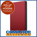 "2TB Seagate 2.5"" USB 3.0 Backup Plus Portable HDD Red $68 + $15 Post ($0 eBay Plus) @ Computer Alliance eBay"