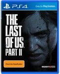 [Pre Order, PS4] The Last of Us Part II $69 + Delivery @ Big W