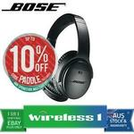 Bose QC35 QuietComfort 35 II $310.25 + Delivery ($0 with eBay Plus) @ Wireless 1 eBay