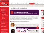 Virgin Prepaid Mobile Broadband Modems 50% off (Includes Data, Free Delivery, Online Only)