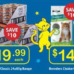 [NSW] Breeders Choice Cat Litter 30L $14.99 & Fancy Feast Classic 24x85g Range $19.99 @ PetO Penrith