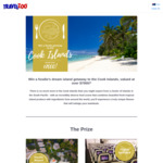 Win a Getaway For 2 to The Cook Islands Worth $7000 from Travelzoo