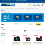 Canon 5DIV $3,099 (+$100 Cashback), Canon EOS RP $1,399 (+$100 CB), Canon 6D MkII $1549 (+$50 CB) + Free Freight @ Camera House