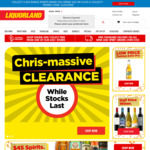 Liquorland (Click & Collect)  2000 FlyBuy Points for Purchases of $50+ or ShopBack 9% Cashback