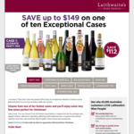 Targeted AmEx Statement Credit - Laithwaite's Wine People: Spend $150 Get $50 Back