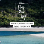 Win a Gold Coast Event Holiday Package of Choice Worth Up to $5,515 from Destination Gold Coast