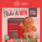 Win a Belling Richmond Deluxe Cooker Worth $7,999 from Baxters Food [Buy Aunty Kath's Gingerbread Cookie Dough + Upload Pic]