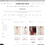 20% off Sale Dresses ($9.99 Delivery, $0 with $75 Spend or C&C) @ Forever New