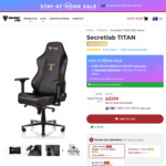 Secretlab TITAN (2020 Series) $569 Delivered @ Secretlab Chairs