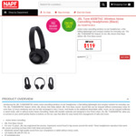 JBL Tune 600BTNC Wireless Noise Cancelling Headphones $119 Delivered @ NAPF Electronics