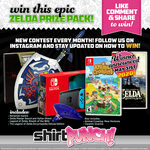 Win The May Zelda + Animal Crossing + Switch Giveaway from ShirtPunch