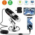 Bysameyee 8 LED Magnification Endoscope Camera with Case & Metal Stand $25.49 + Delivery ($0 with Prime) @ Sameyee Amazon AU