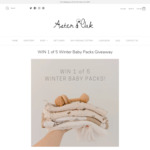 Win 1 of 5 Winter Baby Packs from Aster & Oak
