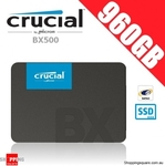 Crucial BX500 SSD 480GB $92.70, 960GB $139.96 + Delivery @ Shopping Square
